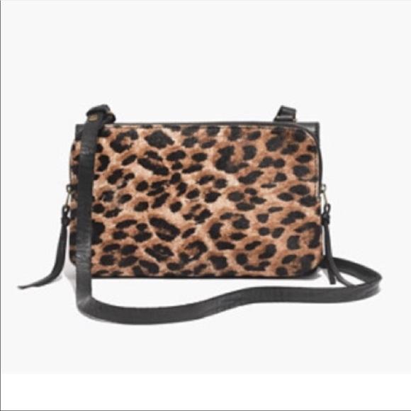f8362604c468 Madewell Handbags - Madewell Calf Skin   Leather Slim Crossbody